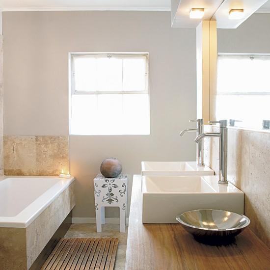 Serene bathroom nature inspired cape town house tour for Serene bathroom ideas