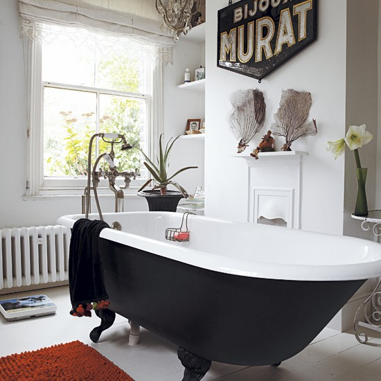 Victorian Bathrooms Decorating Ideas: Take A Tour Around An Eclectic Victorian Terrace