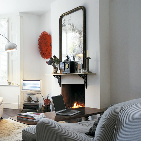Take a tour around an eclectic victorian terrace for Front room decorating designs
