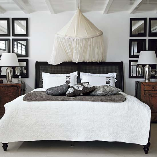 Bedroom | Caribbean retreat house tour | housetohome.