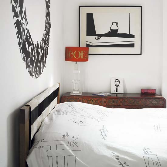 Bedroom cosmpolitan victorian terrace house tour for Bedroom ideas victorian terrace