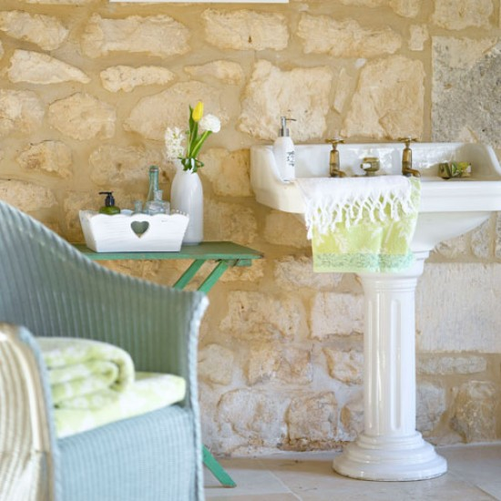 Baños Rusticos De Piedra:Rustic Country Bathroom Ideas