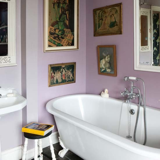 bathroom eclectic victorian villa house tour