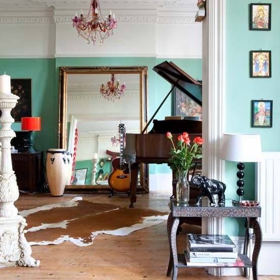 Piano room | Eclectic Victorian villa house tour | House tour | Modern decorating ideas | decorating | PHOTO GALLERY | livingetc | housetohome