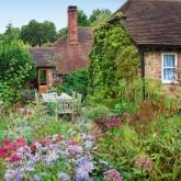 Take a tour around a country cottage garden