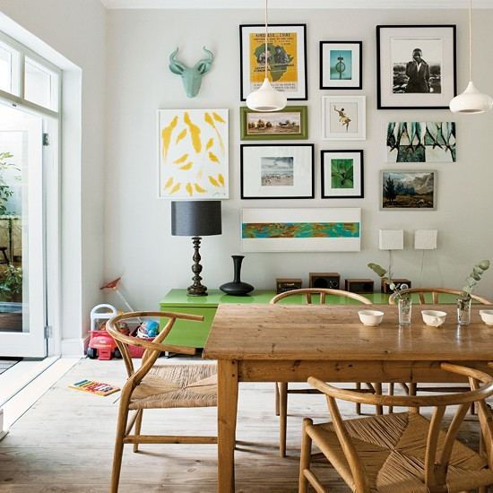 Dining room family friendly conversion in cape town for Kid friendly family room design