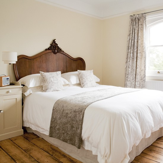 Classic neutral bedroom | Simple bedroom | housetohome.