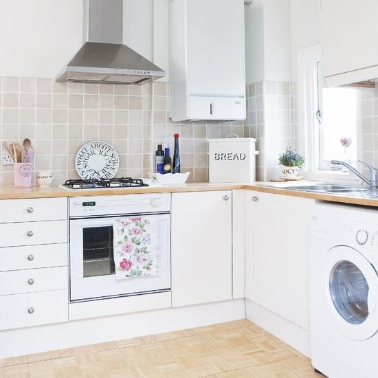White Country Kitchen Kitchen Design