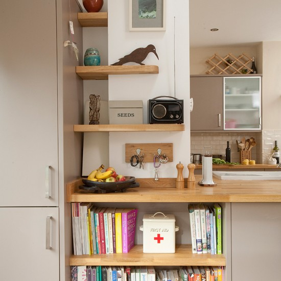 Kitchen Storage Shelves Modern Kitchen