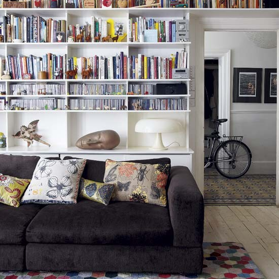 Living Room Storage Spacious Victorian Family House Tour