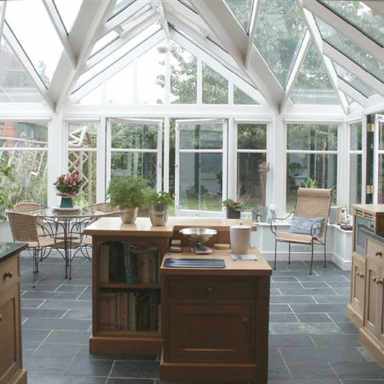 Glazed extension garden rooms 18 design ideas for Garden room extension interior