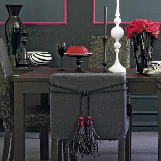 Dining room accessories | Dining room decorating ideas | Monochrome designs | PHOTO GALLERY | Housetohome