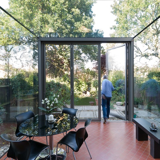 contemporary glass conservatory garden rooms 18 design ForGlass Rooms Conservatories