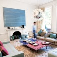 Take a look inside this stylish Kensington flat