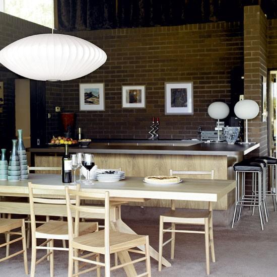 Mid Century Kitchen Remodel: 1970s Retro Bungalow House Tour