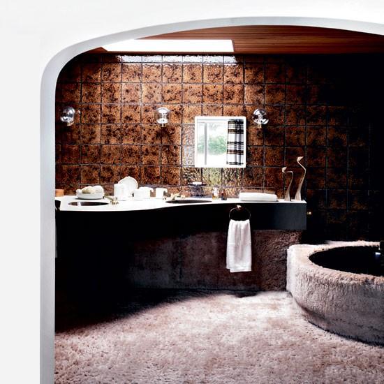1970s Bathroom Tiles: 1970s Retro Bungalow House Tour
