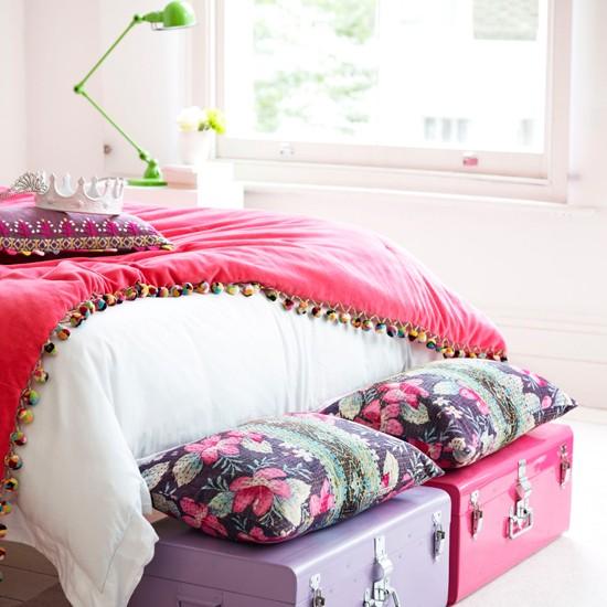 Girls Bedroom Storage - Teenage Girls Bedroom