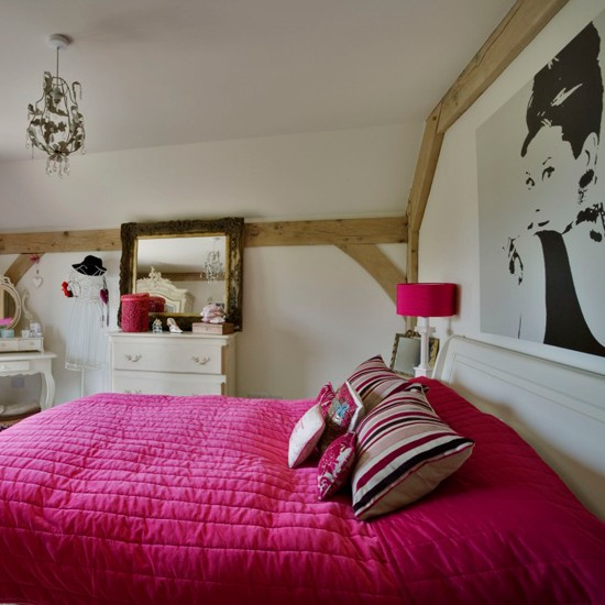 Large print bedroom teenage girls bedroom ideas for Bedroom ideas for teen girl