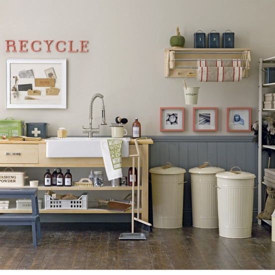 1950s-style utility room | Utility room | Utility room storage solutions | PHOTO GALLERY | Housetohome