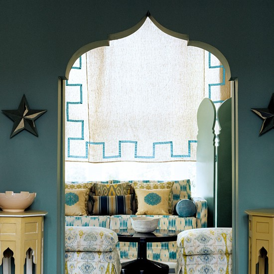 Moroccan-inspired details | 10 ways to give your living room personality | family living room ideas | living room decorating ideas | living room | housetohome