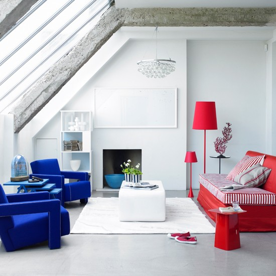 Cool primary colours | 10 ways to give your living room personality | family living room ideas | living room decorating ideas | living room | housetohome