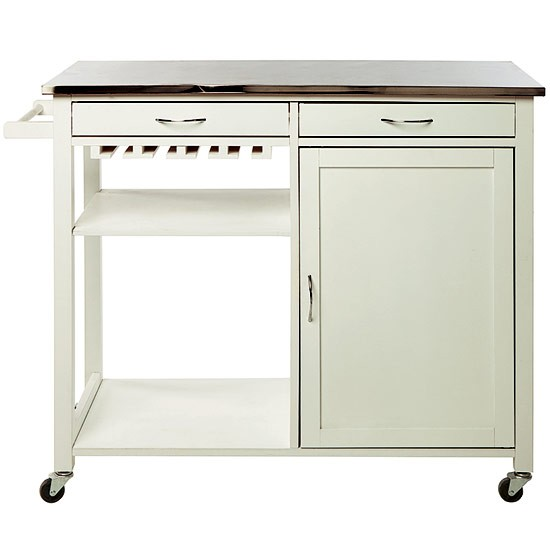 Vintage trolley from tesco direct kitchen trolleys 10 for Designs of kitchen trolleys