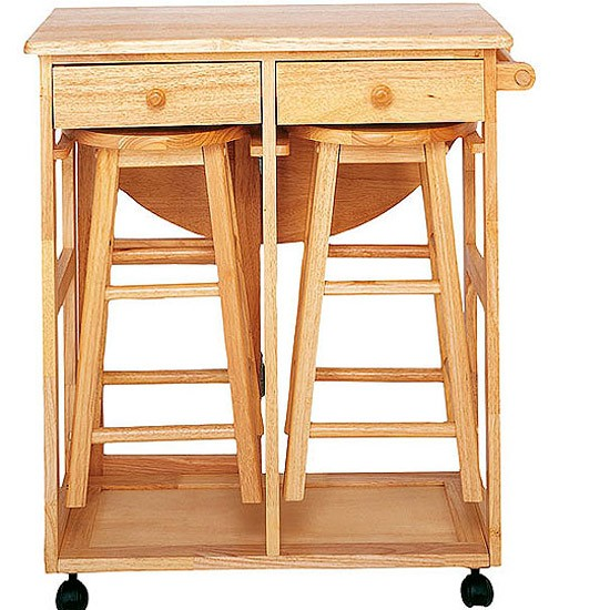Kitchen trolley with stools from Cargo Home Shop Kitchen  : Cargo from www.housetohome.co.uk size 550 x 550 jpeg 82kB
