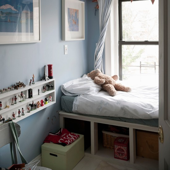 Small children's bedroom | Storage solutions for small spaces | Small space designs | PHOTO GALLERY | Housetohome