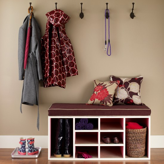 Keep hallway clutter at bay storage solutions for small for Home storage solutions for small spaces