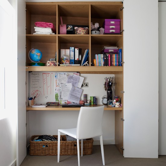 Small home office | Storage solutions for small spaces | Small space designs | PHOTO GALLERY | Housetohome