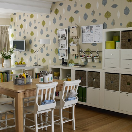 Keep everything in one place storage solutions for small for Small dining room solutions