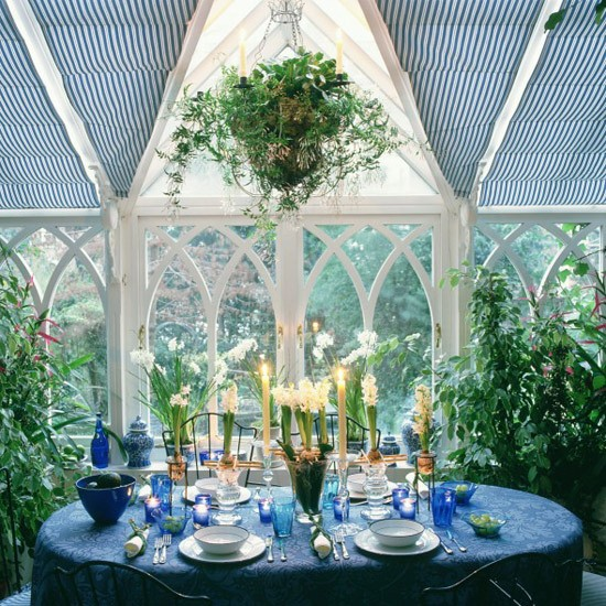Grand statement conservatory | Conservatories | Conservatory decorating ideas | PHOTO GALLERY | Housetohome.co.uk