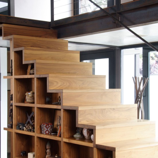 Stairs with storage | Hallways and stairs — 10 striking