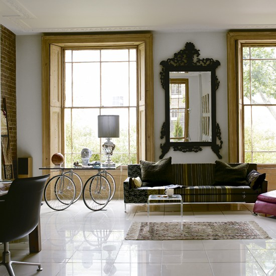 Eclectic living room | Regency-style house | House tour | Real homes | PHOTO GALLERY | Housetohome