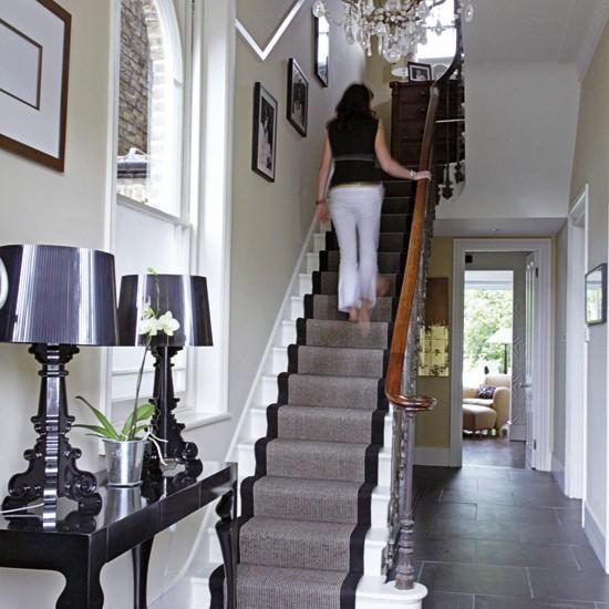 Elegant Hallway Victorian London Home House Tour Real Homes