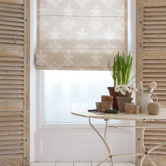 Conservatory blind | Country conservatory | Window dressing idea | Image | Housetohome