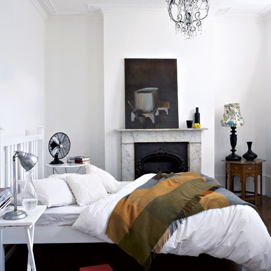 Bedroom tasteful period terrace house tour housetohome for Bedroom ideas victorian terrace