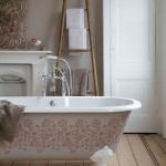 Serene country bathroom | Bathroom design | Freestanding bath | Image | Housetohome