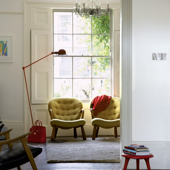 Tasteful period terrace house tour for Terraced house decorating ideas uk