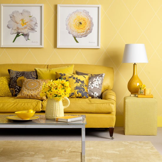 Yellow Living Room Living Room Design