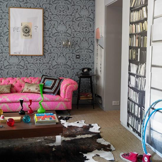 Children's sitting room | colour experts family home | boho-chic house tour | house tour | housetohome