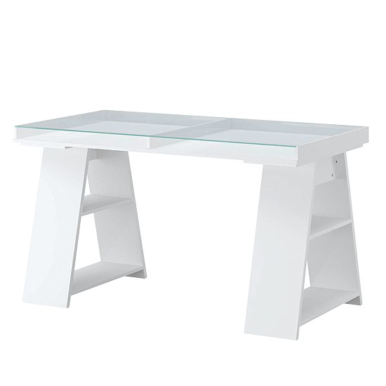 Vika Gruvan Table From IKEA Trestle Dining Tables 10