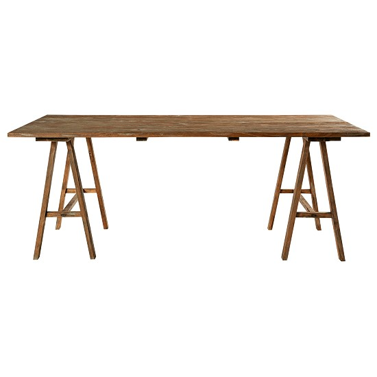 Trestle dining tables 10 of the best - Maison du monde table ...