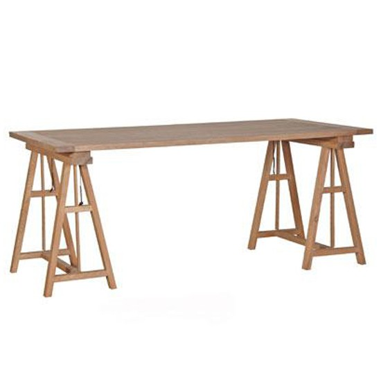 Wood Table From Lucy Willow Trestle Dining Tables 10