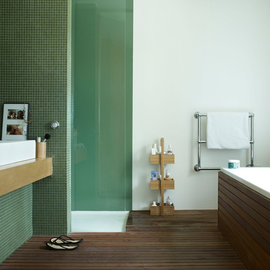 Spring green bathroom | Bathroom design | Images | Housetohome