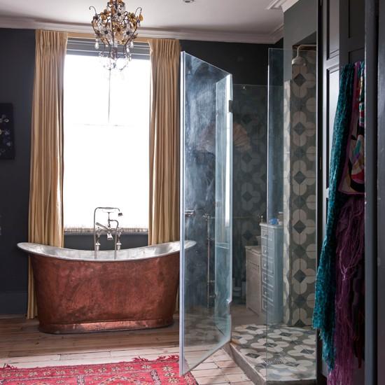 ethnic inspired bathroom bathroom design