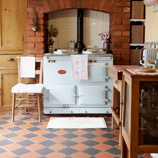 Terracotta tiles kitchen flooring ideas 10 of the best for Kitchen flooring ideas uk