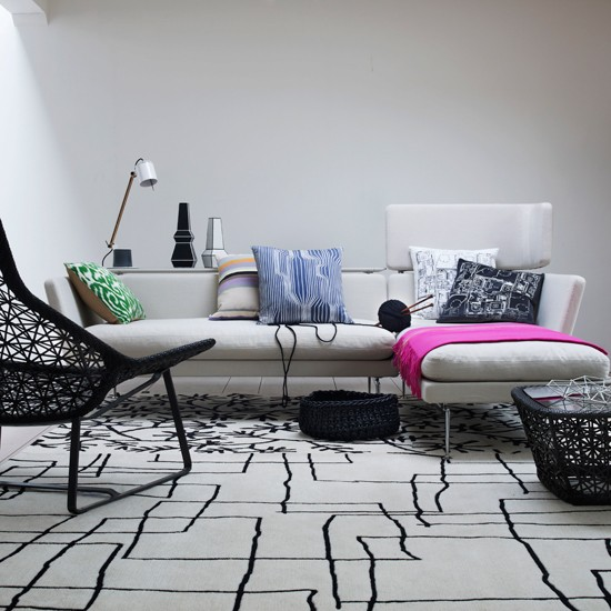 edgy white living room modern living room housetohome