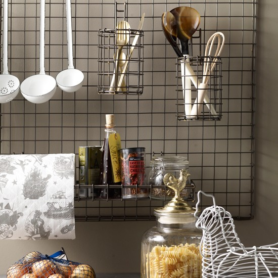 Kitchen Utensil Storage Kitchen Idea Wall Rack Images
