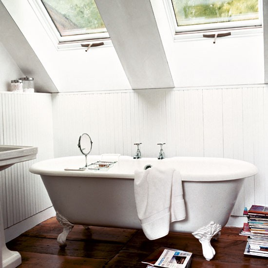 Bathroom take a tour around a new york barn conversion for Barn conversion bathroom ideas